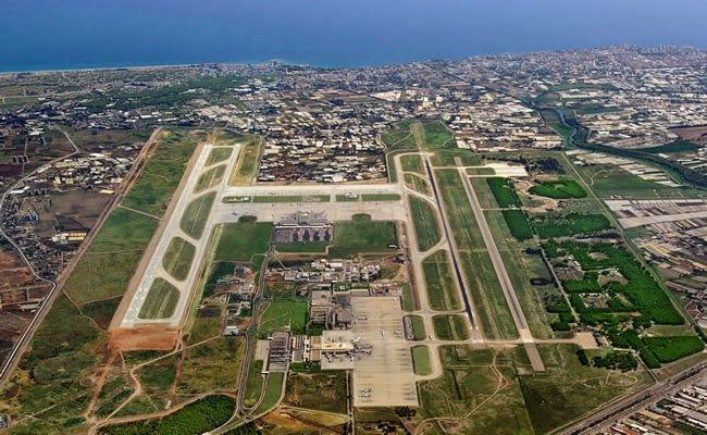 Aerial View of Antalya International Airport
