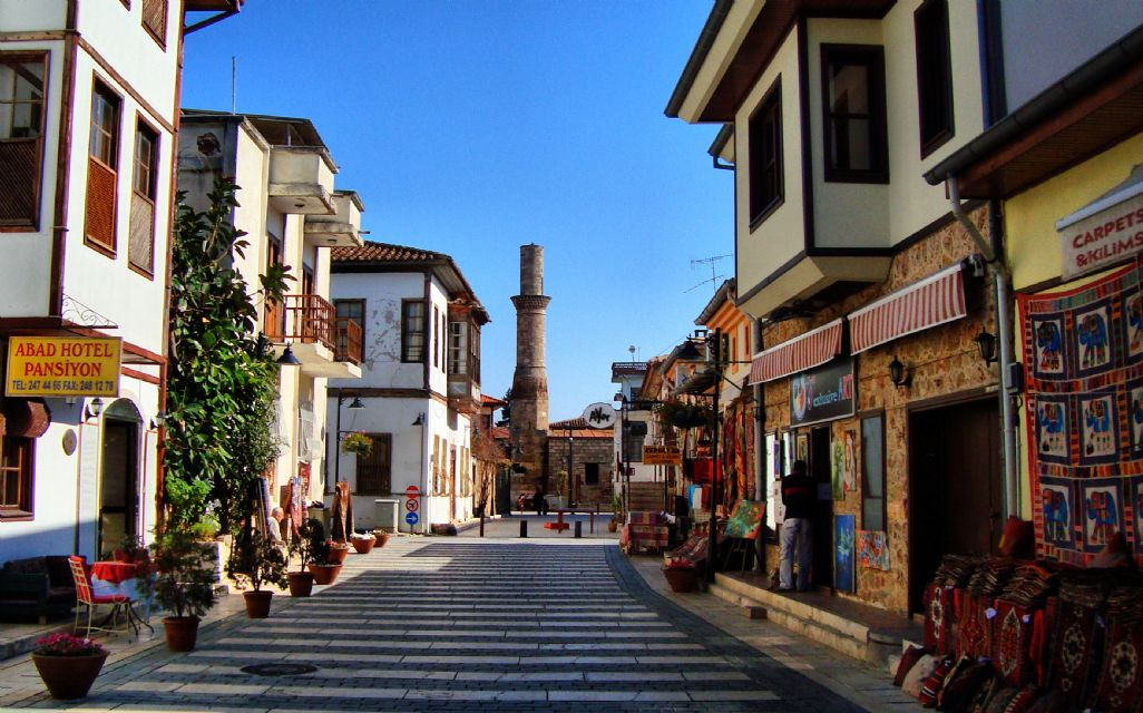 Kaleici Old Town in the Centre of Antalya City